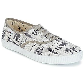Sapatos Sapatilhas Victoria INGLES PALMERAS Bege
