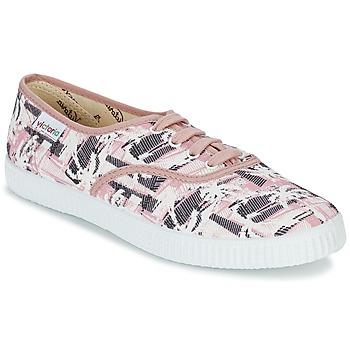 Sapatos Mulher Sapatilhas Victoria INGLES PALMERAS Rosa