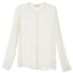 Textil Mulher camisas Cream PANSY Cru