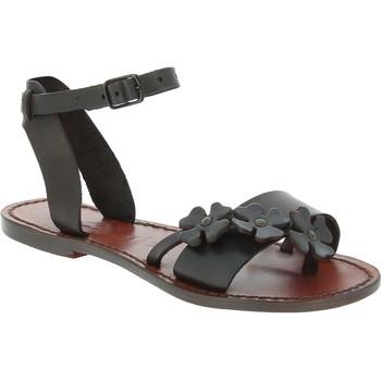 Sapatos Homem Sandálias Gianluca - L'artigiano Del Cuoio 593 D MORO CUOIO Testa di Moro