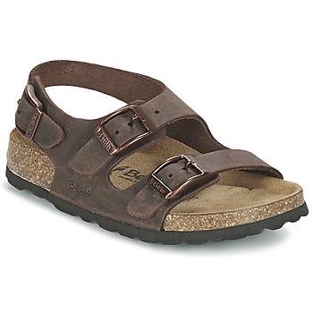 Sapatos Criança Sandálias Betula Original Betula Fussbett FUNK Castanho