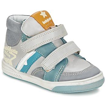 Sapatos Rapaz Sapatilhas de cano-alto Babybotte APPOLON Cinza