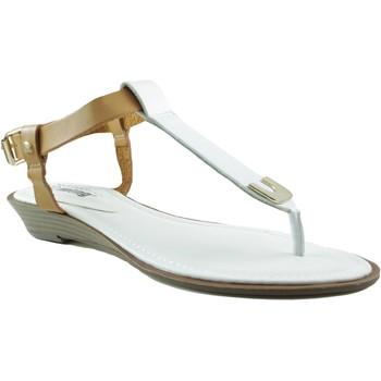 Sapatos Mulher Sandálias MTNG MUSTANG VACHE SANDALIA CUÑA BLANCO
