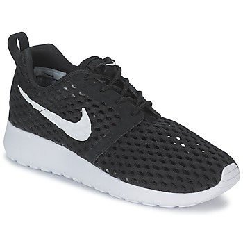 Sapatos Rapaz Sapatilhas Nike ROSHE ONE FLIGHT WEIGHT BREATHE JUNIOR Preto