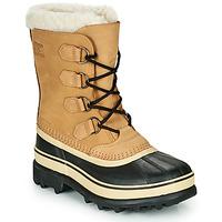 Sapatos Mulher Botas de neve Sorel CARIBOU Castanho / Preto