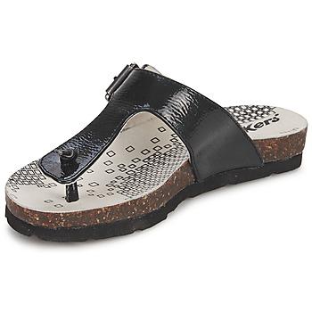 Sapatos Rapariga Chinelos Kickers DITIK Preto