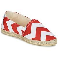 Sapatos Mulher Alpargatas Maiett NOUVELLE VAGUE Vermelho / Branco