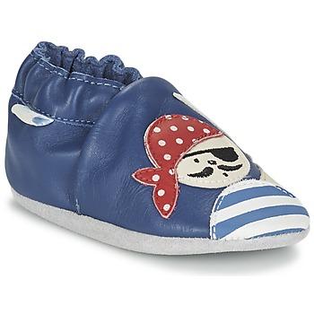Sapatos Rapaz Pantufas bebé Robeez JOLLY PEG Azul