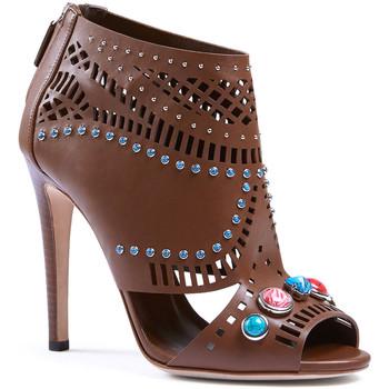 Sapatos Mulher Sandálias Gucci 371057 A3N00 2548 marrone