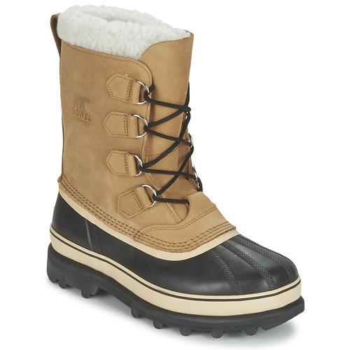 Sapatos Homem Botas de neve Sorel CARIBOU Bege