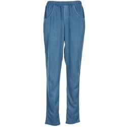 Textil Mulher Calças finas / Sarouels Vero Moda AMINA Azul