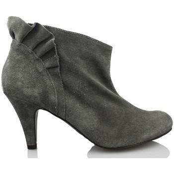 Sapatos Mulher Botas baixas Vienty VOLANTE GRIS GRIS
