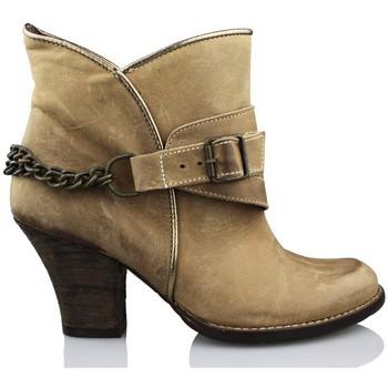 Sapatos Mulher Botins Vienty ESPUELAS-MOSCU MARRON
