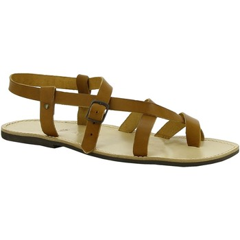 Sapatos Mulher Sandálias Gianluca - L'artigiano Del Cuoio 530 U CUOIO LGT-GOMMA Cuoio
