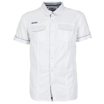 Textil Homem Camisas mangas curtas Deeluxe ISLANDO Branco