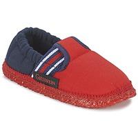 Sapatos Rapaz Chinelos Giesswein AICHACH Vermelho / Marinho