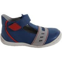 Sapatos Rapaz Sapatos Kickers 413491-10 GREG Azul