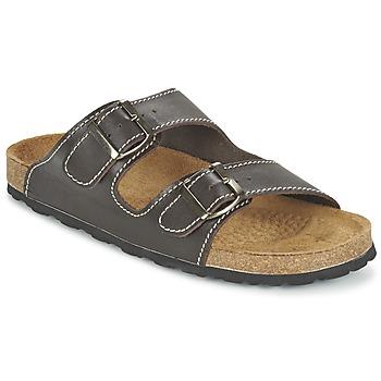 Sapatos Homem Chinelos Casual Attitude TERTROBAL Castanho