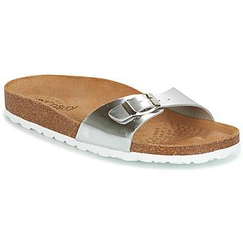 Sapatos Mulher Chinelos Casual Attitude TERTROBAL Prateado