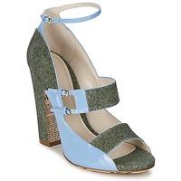 Sapatos Mulher Sandálias John Galliano A54250 Azul / Verde