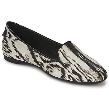 Sapatos Mulher Sabrinas Roberto Cavalli XPS280-FLA35 Bege / Preto