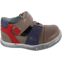 Sapatos Rapaz Sapatos Kickers 413540-11 TROPICALI Beige