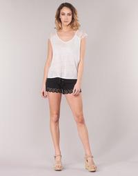 Textil Mulher Shorts / Bermudas Banana Moon HUAWEI Preto