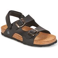 Sapatos Rapaz Sandálias Citrouille et Compagnie BALDODE Preto / Fosco