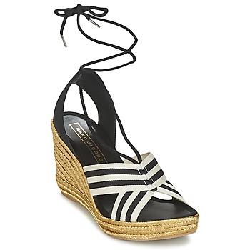 Sapatos Mulher Sandálias Marc Jacobs DANI Preto / Branco
