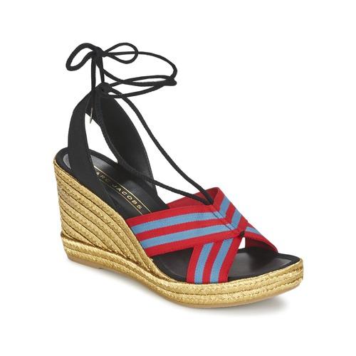 Sapatos Mulher Sandálias Marc Jacobs DANI Azul / Vermelho