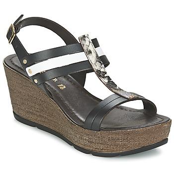 Sapatos Mulher Sandálias Café Noir LAPIBO Preto