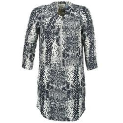 Textil Mulher Vestidos curtos Stella Forest EDERI Marinho / Branco