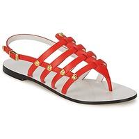 Sapatos Mulher Sandálias Versace DSL944C Coral
