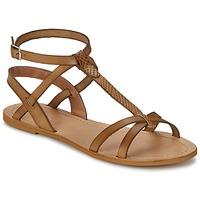 Sapatos Mulher Sandálias So Size BEALO Castanho