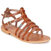 Sapatos Mulher Sandálias Les Tropéziennes par M Belarbi HIC Castanho