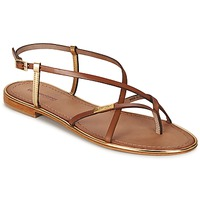 Sapatos Mulher Sandálias Les Tropéziennes par M Belarbi MONACO Dourado