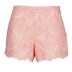Textil Mulher Shorts / Bermudas Manoush AFRICAN SHORT Coral
