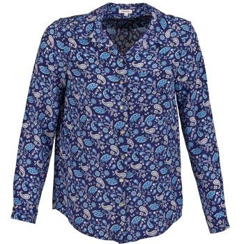 Textil Mulher camisas Manoush BANDANA SILK Azul