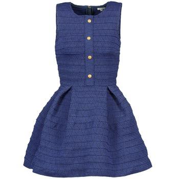 Textil Mulher Vestidos curtos Manoush ELASTIC Azul