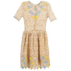 Textil Mulher Vestidos curtos Manoush ROSES Cru