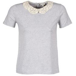 Textil Mulher T-Shirt mangas curtas Manoush T-SHIRT Cinza