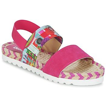 Sapatos Mulher Sandálias Desigual FORMENTERA Rosa