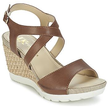 Sapatos Mulher Sandálias Lumberjack SISSI Castanho / Bege