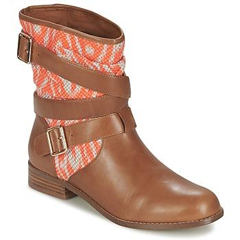 Sapatos Mulher Botas baixas Mellow Yellow VABELO Castanho / Laranja