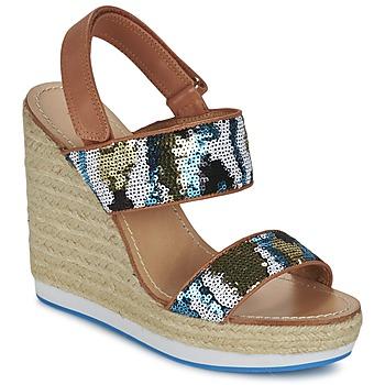 Sapatos Mulher Sandálias Mellow Yellow VABLISS Azul
