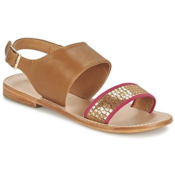 Sapatos Mulher Sandálias Mellow Yellow VADELI Camel