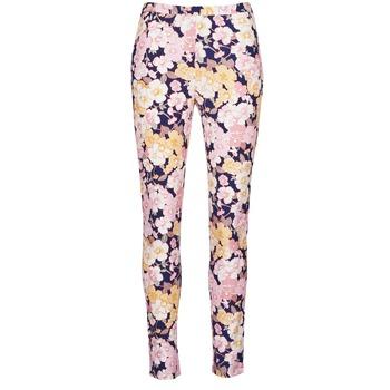 Textil Mulher Calças Gant 414705 Rosa / Azul