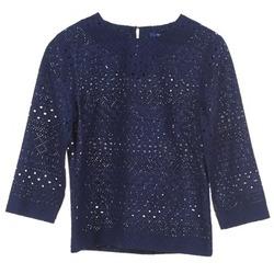 Textil Mulher Tops / Blusas Gant 431951 Azul