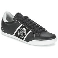 Sapatos Homem Sapatilhas Roberto Cavalli 7779 Preto