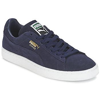 Sapatos Sapatilhas Puma SUEDE CLASSIC + Marinho